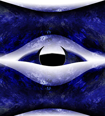 All Seeing Eye Print by Christopher Gaston