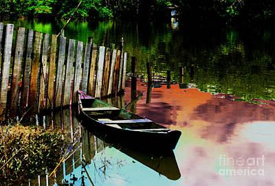 Del Rio Digital Art - Amazon River by Rosane Sanchez