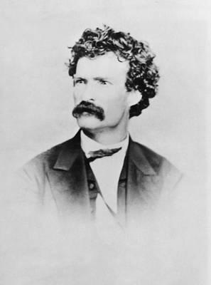 American Writer Mark Twain, Aka Samuel Print by Everett