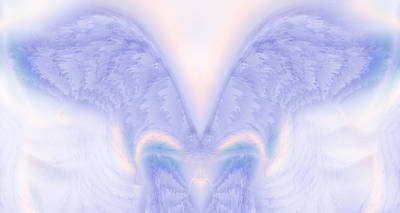 Seraphim Angel Painting - Angel Wings by Christopher Gaston