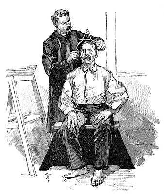 Anthropometry, 19th Century Print by