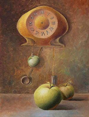 Apple Painting - Apple Time by Elena Melnikova