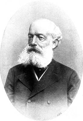 August Kekul�, German Organic Chemist Print by Science Source