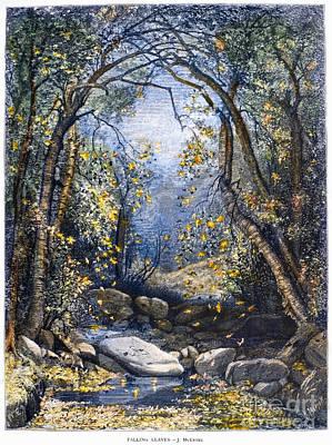 Mcentee Photograph - Autumn, 1873 by Granger