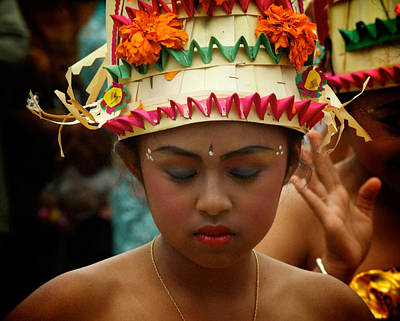 Balinese Dancer Print by Ari Saaski