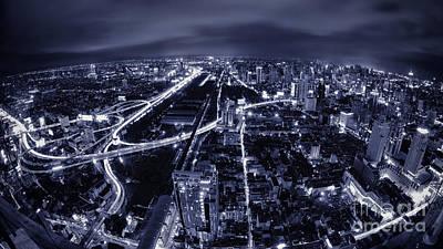 Bangkok Night Original by Anek Suwannaphoom