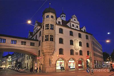 Muenchen Photograph - Bavaria Munich At Night  by Amit Strauss