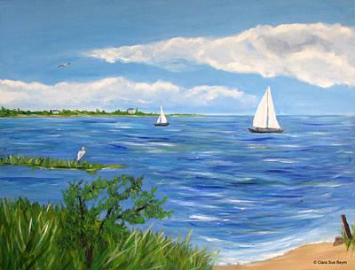 Bayville Painting - Bayville 2 by Clara Sue Beym