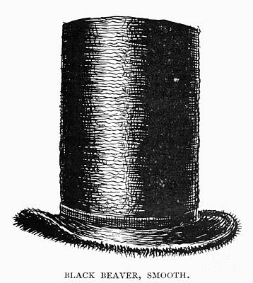 Beaver Photograph - Beaver Hat, C1820s by Granger