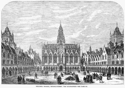 Bethnal Green Market, 1869 Print by Granger