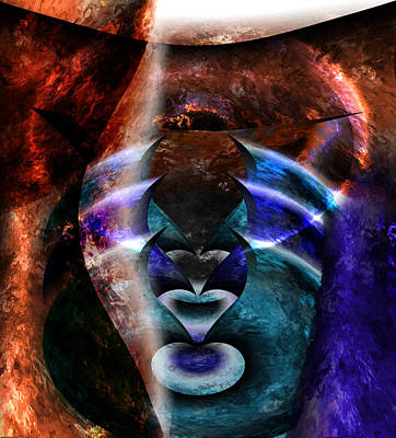 Discernment Painting - Beyond The Mask by Christopher Gaston