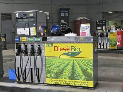 Biodiesel Fuel Pump Print by Ria Novosti