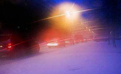 Gridlock Photograph - Blizzard by Ria Novosti