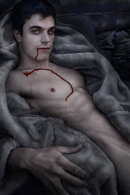 Nosferatu Digital Art - Blood Lust by John Clum