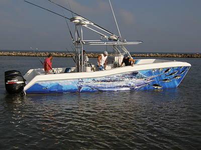 Boat Wrap Print by Carey Chen