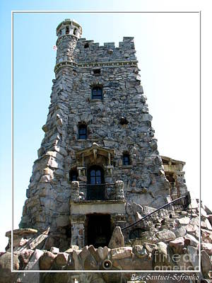 Hearts Photograph - Boldt Castle Alster Tower Playhouse by Rose Santuci-Sofranko