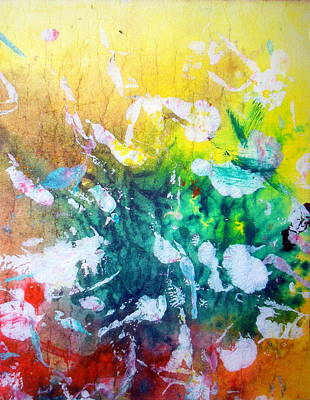 Painting - Bouquet Of Colours by Paul Pulszartti