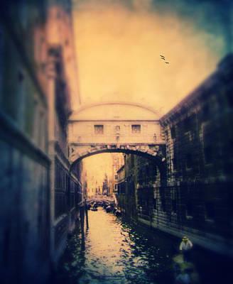 Europe Digital Art - Bridge Of Sighs by Jessica Jenney