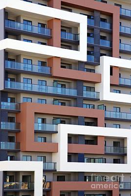 Building Facade Print by Carlos Caetano