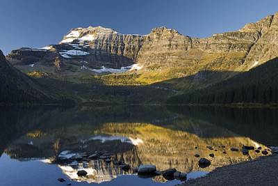 Cameron Lake, Waterton, Alberta, Canada Print by Philippe Widling