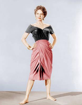 Ankle Bracelet Photograph - Carmen Jones, Dorothy Dandridge, 1954 by Everett