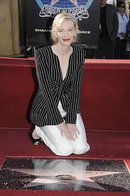 Cate Blanchett Wearing Armani Prive Print by Everett