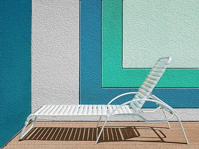 Chaise Digital Art - Chaising by Paul Wear
