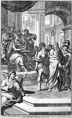 Christ Before Pilate Print by Granger