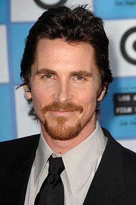 Christian Bale At Arrivals For 2009 Los Print by Everett
