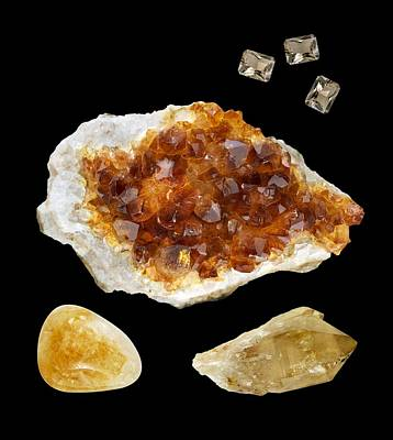 Citrine Photograph - Citrine by Paul Biddle