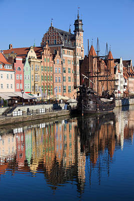 Danzig Photograph - City Of Gdansk by Artur Bogacki