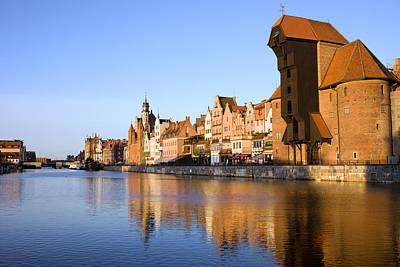 Danzig Photograph - City Of Gdansk In Poland by Artur Bogacki