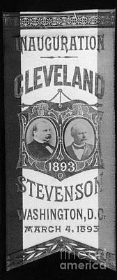 Cleveland: Inauguration Print by Granger