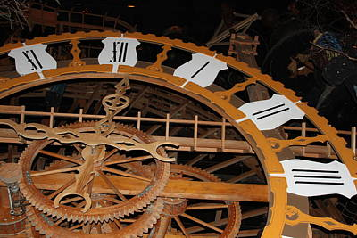 Clock Work Print by Mike Stouffer