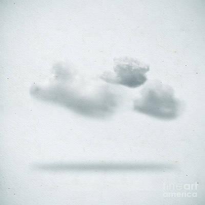 Cloudscape Digital Art - Clouds by Setsiri Silapasuwanchai