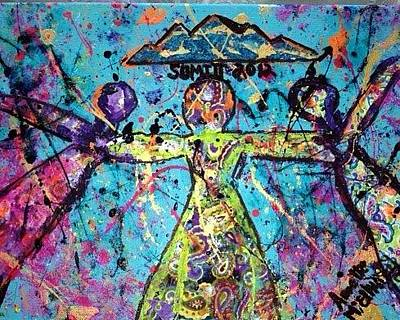 Painting - Coca Summit 2012 by Annette McElhiney