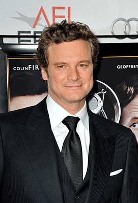Colin Firth At Arrivals For Afi Fest Print by Everett