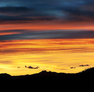 Tebow Photograph - Colorado Sunrise by Beth Riser