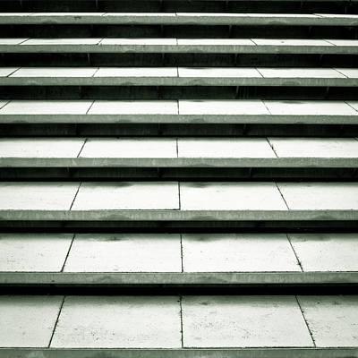 Eternity Photograph - Concrete Steps by Tom Gowanlock