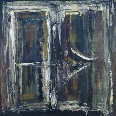 Forgiveness Painting - Confessions - Panel A by Jonathan E Raddatz