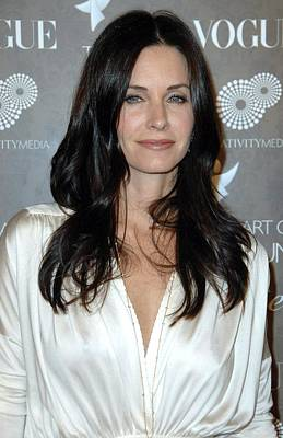 Courteney Cox Arquette At Arrivals Print by Everett