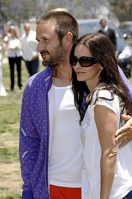Courteney Cox , David Arquette Print by Everett