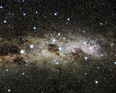 Crux Constellation Print by Eckhard Slawik