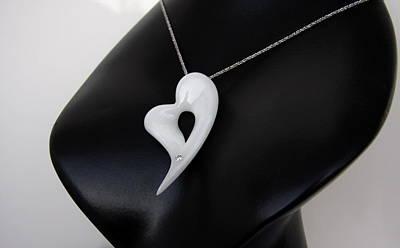 Ciondolo Jewelry - Cuore Eccelso Dedicato A Sofia Loren by Emanuele Rubini