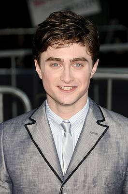 Prince Harry Photograph - Daniel Radcliffe At Arrivals For Harry by Everett