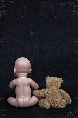 Doll And Bear Print by Joana Kruse