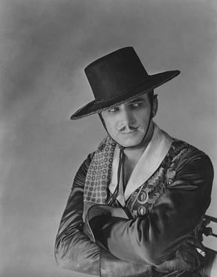Caballero Photograph - Don Q Son Of Zorro, Douglas Fairbanks by Everett