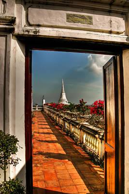 Buddhism Photograph - Door To Enlightenment by Adrian Evans