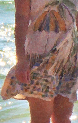 Stroll Digital Art - Dress Code by Betsy Knapp