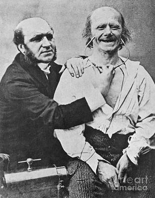 Duchenne Studying Physiognomy Print by Science Source